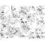 Винт M6X50 Can-Am BRP Screw hex. cap din. 931A2 *HEX. SCREW M6X50, фото 2
