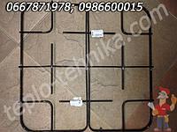 Решетка стола из двух частей газовой плиты Грета 44 х 44 см