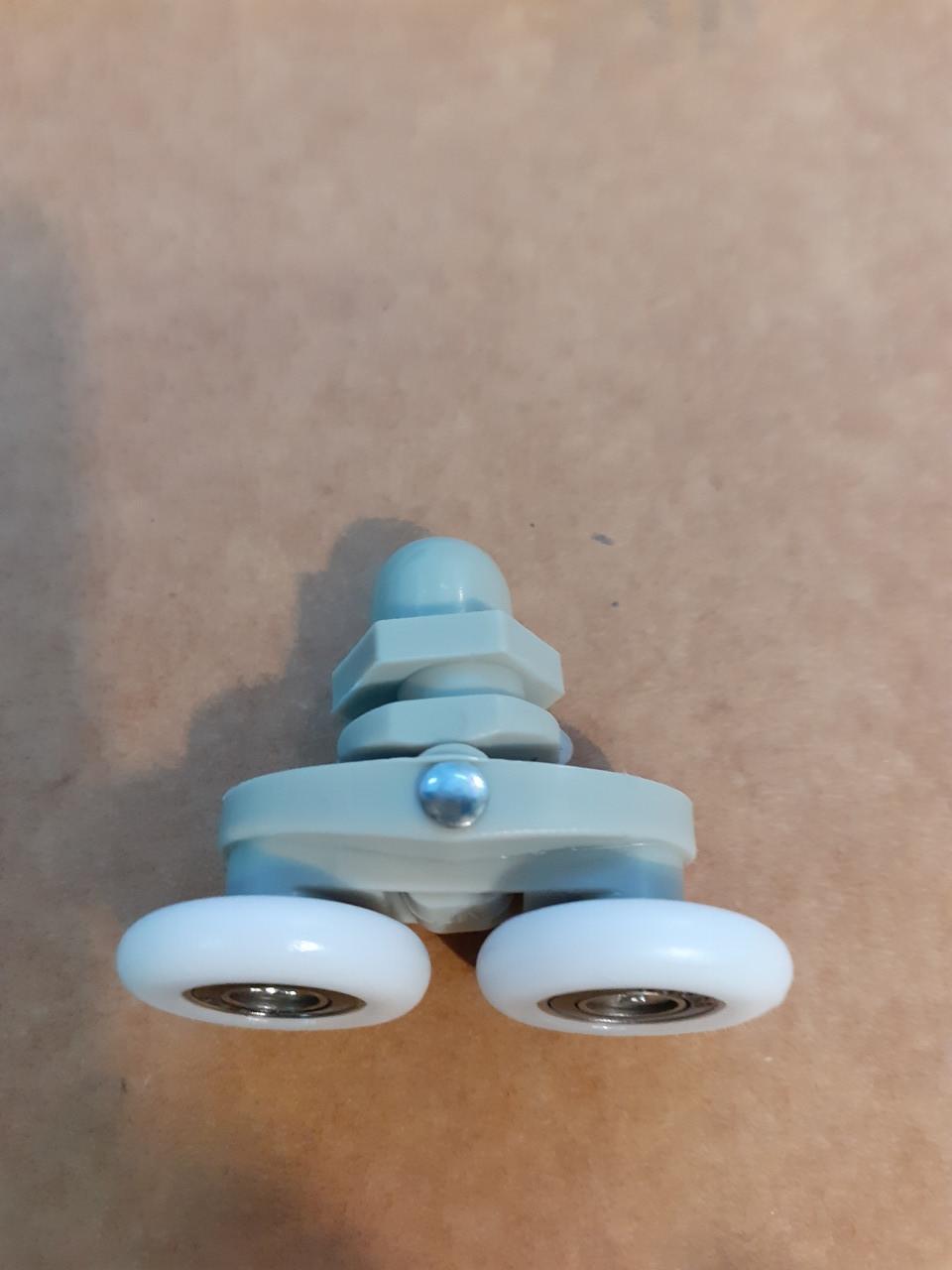 Ролик для душевой кабины двойной 10009 (25 мм) ANGO