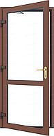 Входные двери ламинация в массе орех  950*2050