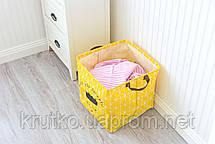 Корзина для игрушек, белья, хранения Скучаю по тебе Berni, фото 3