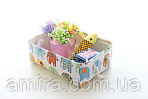 Корзина для игрушек, белья, хранения Слоны Berni, фото 2