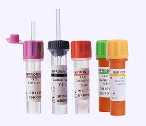 Пробірки для взяття капілярної крові IMPROMINI Активатор згортання з гелем і капіляром 0,2 мл, 0,5 мл