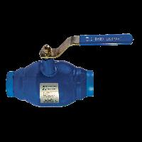Кран шаровой полнопроходной приварной стальной PN40 / шар-нж сталь 304 / PTFE / ДУ 15