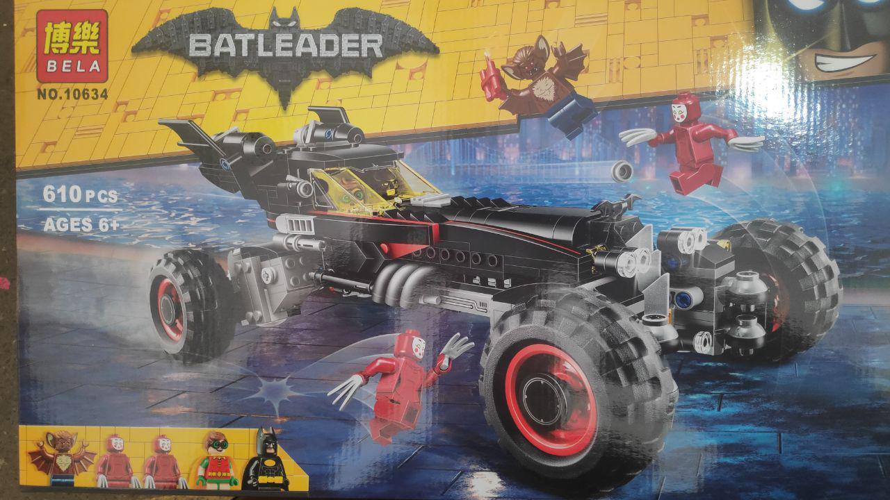 Конструктор лего бэтмен Bela Batman Бэтмобиль 610 деталей
