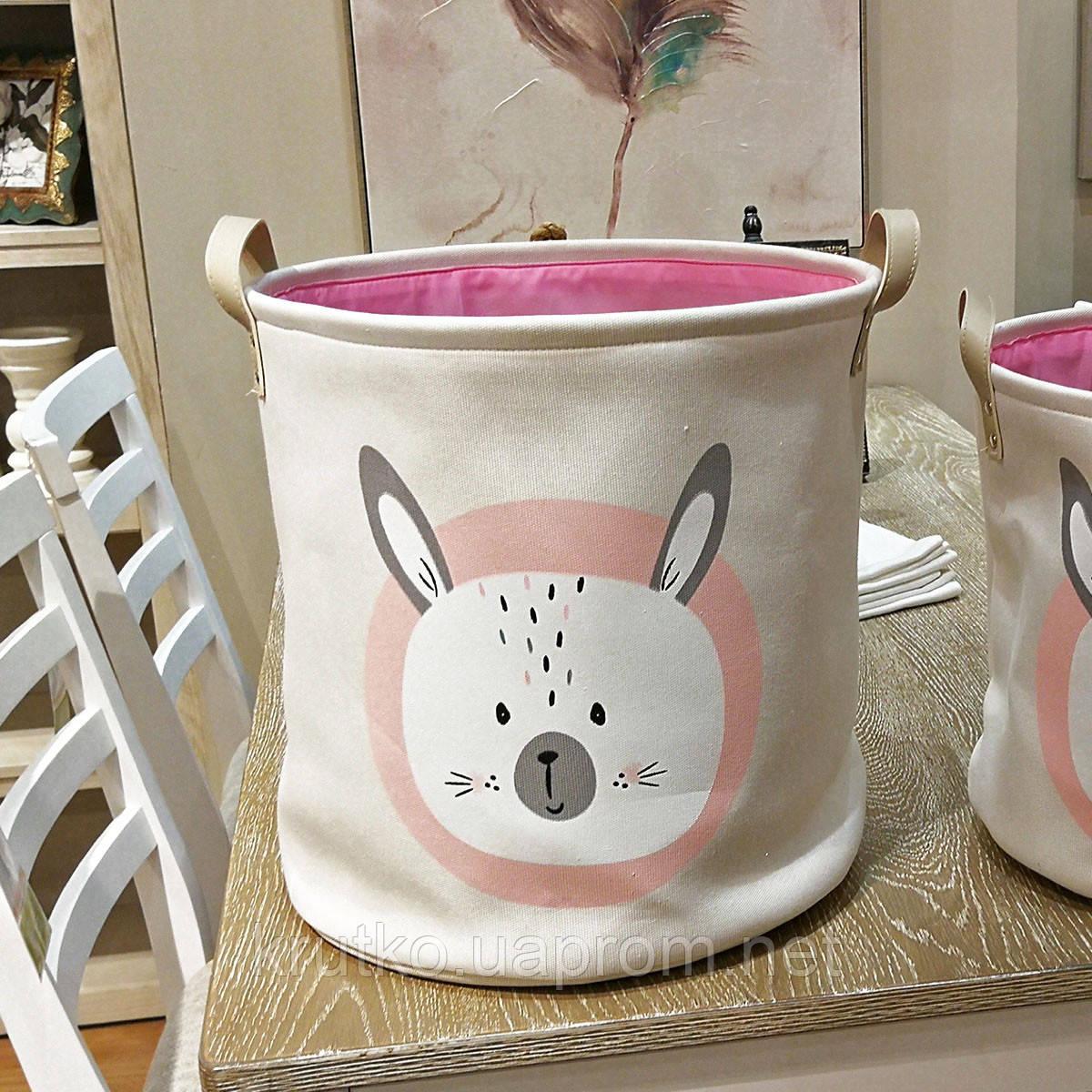Корзина для игрушек, белья, хранения Кролик Berni