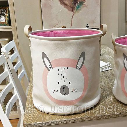 Корзина для игрушек, белья, хранения Кролик Berni, фото 2