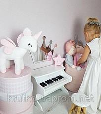 Мягкая игрушка Белый єдинорог  Berni, фото 2