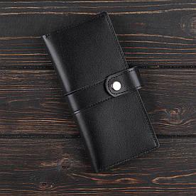 Портмоне 5.0 Fisher Gifts STANDART черный (кожа)