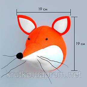 Мягкая игрушка украшение Лиса Berni, фото 2