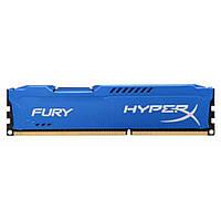 Модуль памяти для компьютера DDR3 4Gb 1600 MHz HyperX Fury Blu Kingston (HX316C10F/4), фото 1