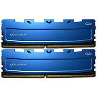 Модуль памяти для компьютера DDR4 16GB (2x8GB) 2400 MHz Blue Kudos eXceleram (EKBLUE4162416AD)