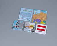 """Европа. Часть 3 - географическая развивающая игра """"Мемори+: Страны, столицы, флаги"""""""