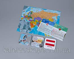 Географическая развивающая игра «Мемори+: Страны, столицы, флаги»