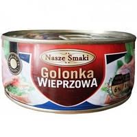 Консервована свинина Nasze Smaki Golonka Wieprzowa 300 g