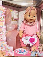 Пупс функциональный с аксессуарами Baby Born (42 см)