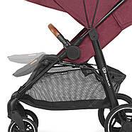 Прогулочная коляска Kinderkraft Grande 2020 Burgundy, фото 3