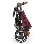 Прогулочная коляска Kinderkraft Grande 2020 Burgundy, фото 9