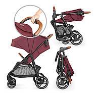 Прогулочная коляска Kinderkraft Grande 2020 Burgundy, фото 6