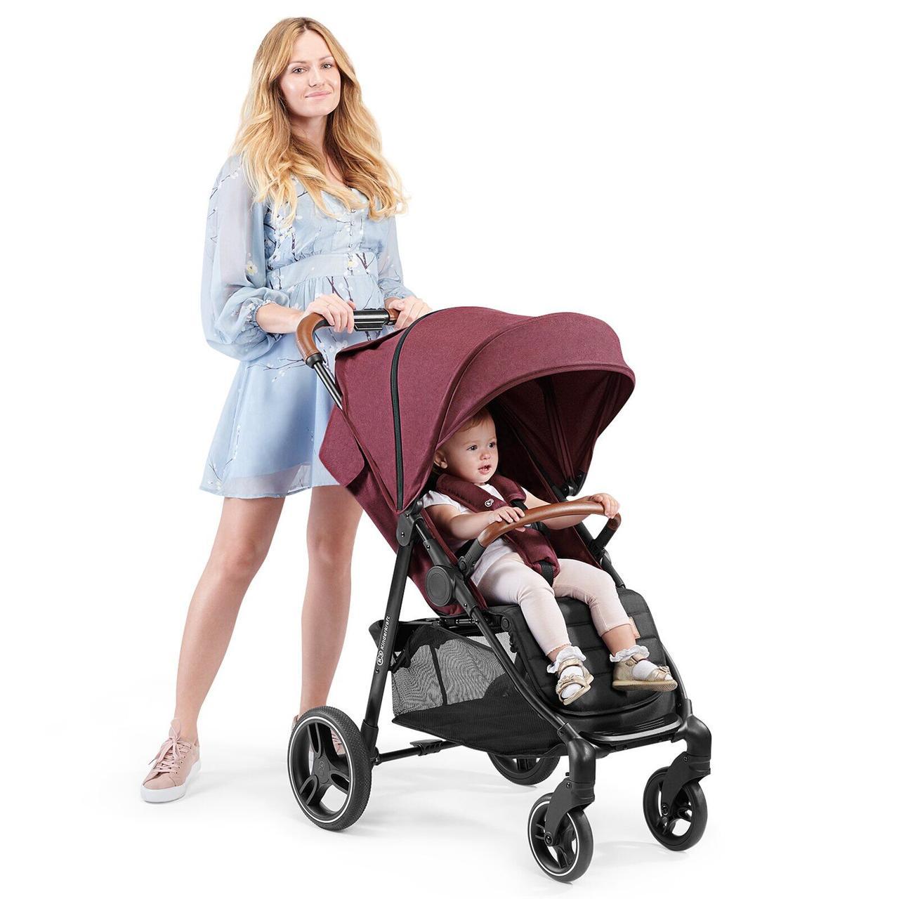 Прогулочная коляска Kinderkraft Grande 2020 Burgundy