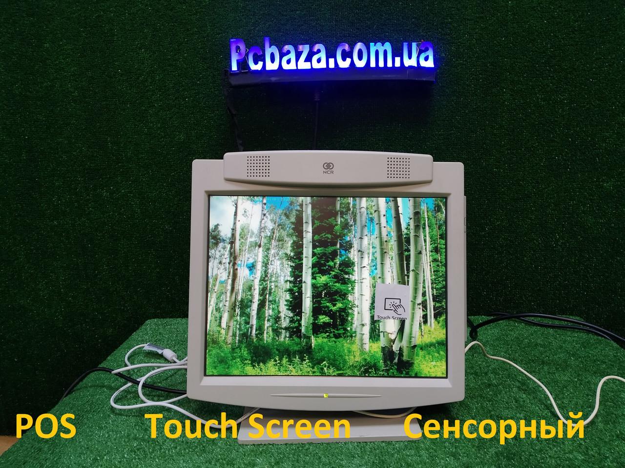 """NCR 15"""" Touchscreen Monitor \ Сенсорный монитор \ USB Есть ОПТ! POS"""