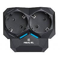 Сетевой фильтр питания REAL-EL AR-01, black (EL122300005)