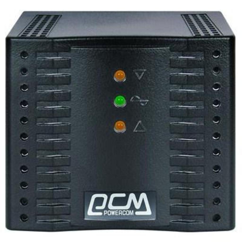 Стабилизатор Powercom TCA-600 black