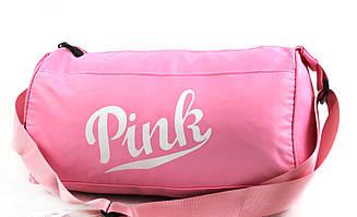 """Жіноча спортивна сумка """"Pink"""" YR1963 (40 см)"""