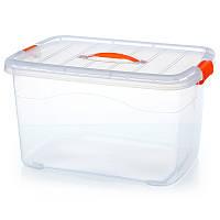 Контейнер для хранения с крышкой, короб, ящик пластиковый