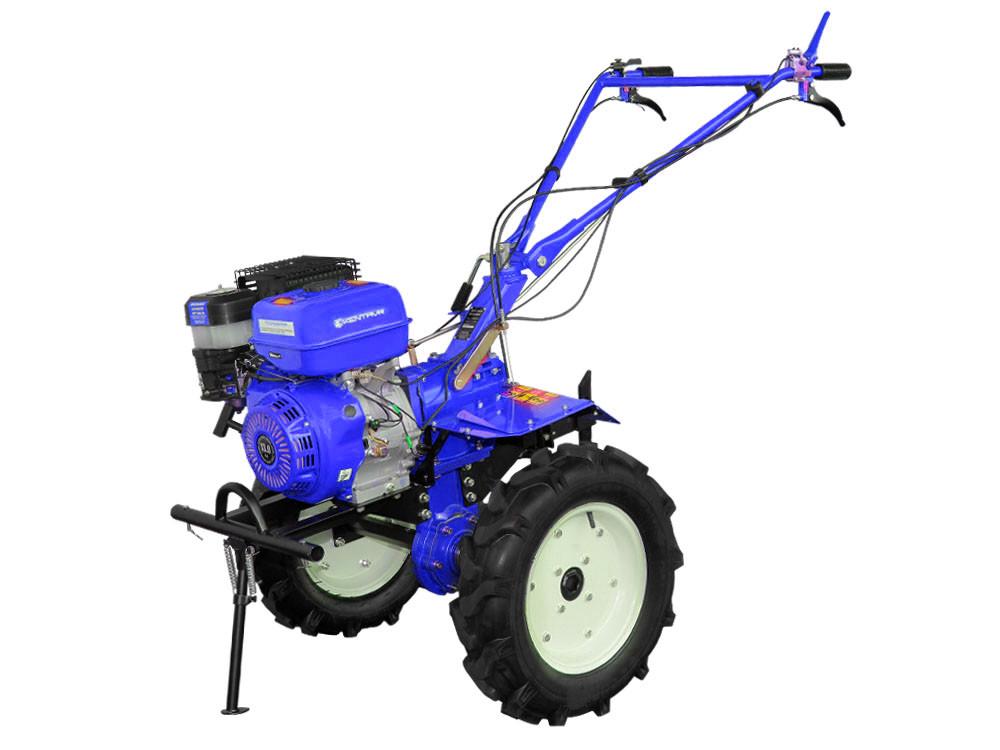 Мотоблок бензиновый Кентавр МБ2013 Б-4 ( 13 л.с., ручной стартер, воздушное охлаждение, Синий)