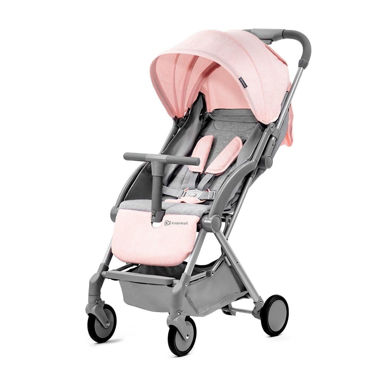Прогулочная коляска Kinderkraft Pilot Pink+ВИДЕО