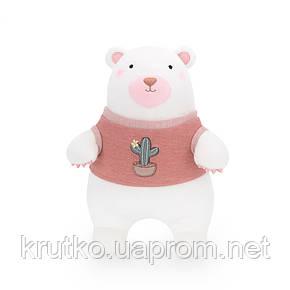Мягкая игрушка Мишка в красном свитере, 24 см Metoys, фото 2