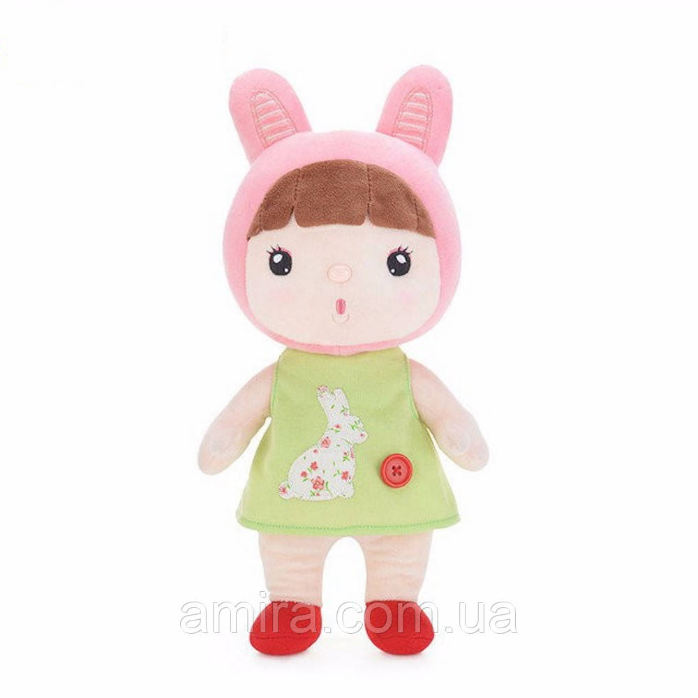 Мягкая кукла Kawaii Light Green, 30 см Metoys