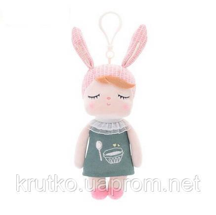 Мягкая кукла - подвеска Angela Green, 18 см Metoys, фото 2