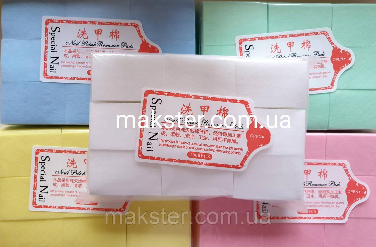 Безворсовые салфетки плотные 1000 шт (4х6 см)
