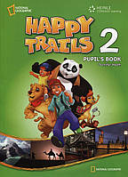 Книга Happy Trails 2. Pupil's Book (with CD)