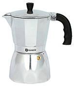 Кофеварка Maestro 1667-3 0.3 л Стальной / Черный