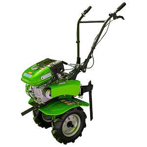 Мотоблок бензиновый ДТЗ 470Б ( 7 л.с., ручной стартер, воздушное охлаждение, Зеленый)