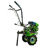 Мотоблок бензиновый ДТЗ 470Б ( 7 л.с., ручной стартер, воздушное охлаждение, Зеленый), фото 4