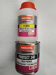 Novol PROTEKT 340 Реактивный грунт WASHPRIMER 0.2л+0.2л