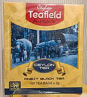 Чай Teafield черный в пакетиках 100 шт