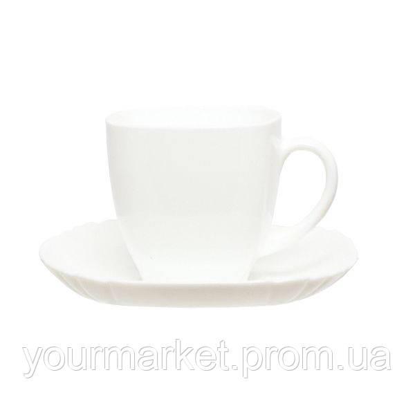 Чашка с блюдцем Luminarc Lotusia 220 мл 2 пр