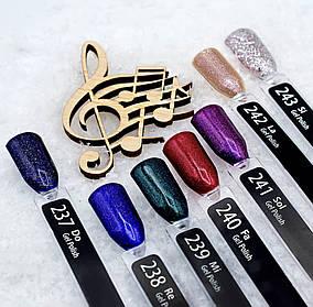 Гель лак Melody Collection PNB, разные цвета