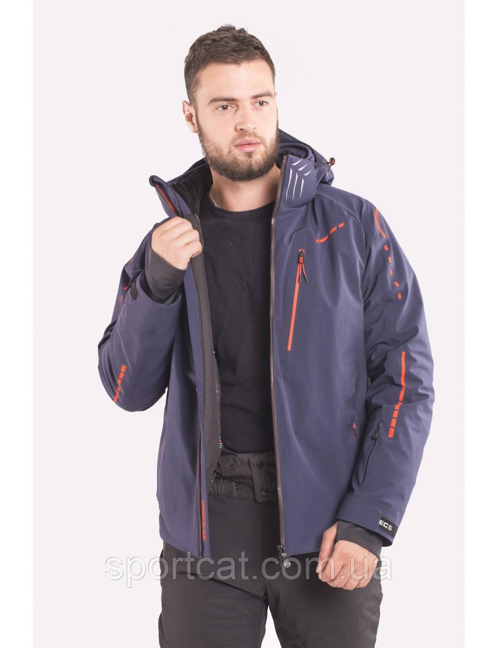 Мужская горнолыжная куртка Avecs, синий Р. 50, 52