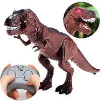 Игрушка Динозавр T-Rex 25см интерактивная на радиоуправлении 9989