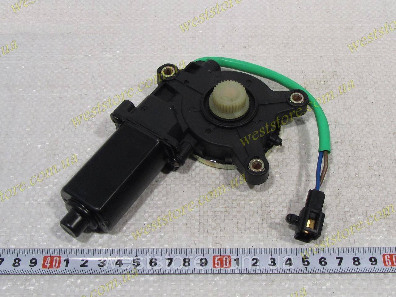 Мотор,электродвигатель стеклоподъемника передний левый Daewoo Lanos Ланос CRB 96430355 звезда