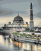 Картина по номерам BRUSHME Мечеть на закате
