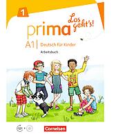 Книга Prima - Los geht's! A1 Deutsch für Kinder. Arbeitsbuch mit Audio-CD und Stickerbogen