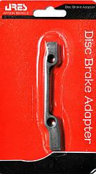 Адаптер для дискового тормоза велосипеда Ares AP01 (F160/R140)
