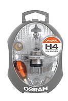 Комплект запасных ламп для легковых автомобилей OSRAM CLK H4